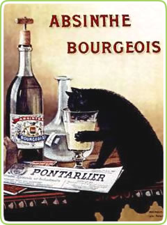 Absinthe Bourgeois poster